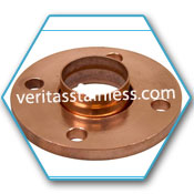 Copper Nickel Weld Neck Flanges A / B