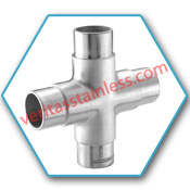 WP316L Stainless Steel 4 way Fittings