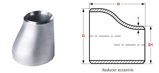 Stainless steel butt weld pipe fittings sch