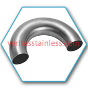 Stainless Steel 180° LR Return Bends  / SS 180° LR Return Bends