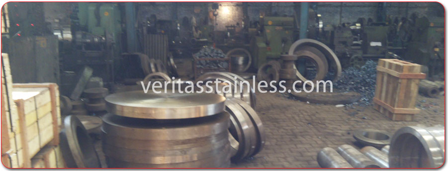 original photograph of Alloy Steel Flanges at our factory in india