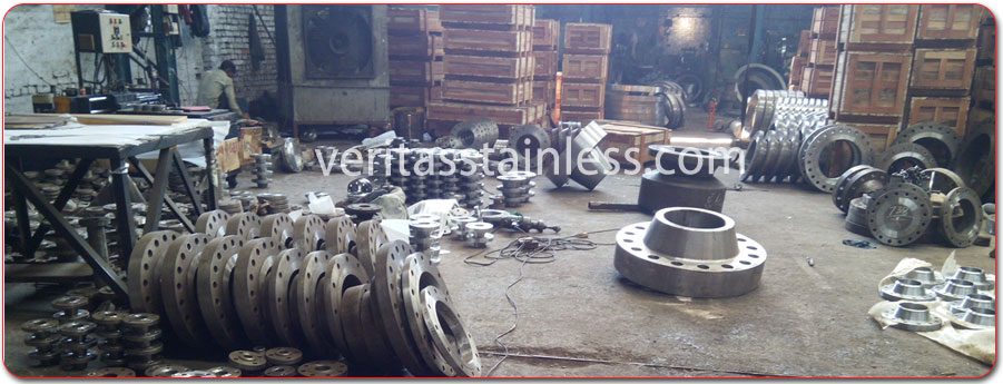 original photograph of Stainless Steel Flanges / Carbon Steel Flanges at our factory India